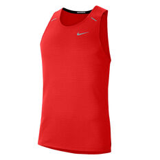 Nike Mens Rise 365 Running Tank Red S, Red, rebel_hi-res