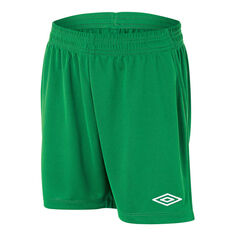 Umbro League Junior Football Shorts Emerald M, Emerald, rebel_hi-res