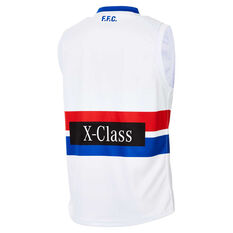 Western Bulldogs 2020 Mens Away Guernsey White S, White, rebel_hi-res