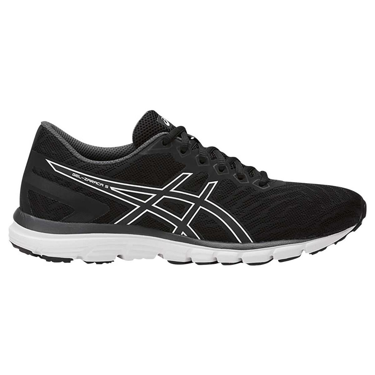 Asics Gel Zaraca 5 Womens Running Shoes Black / Grey US 9.5