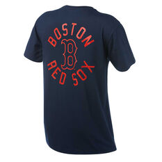 Boston Red Sox Mens Drimer Tee Navy S, Navy, rebel_hi-res