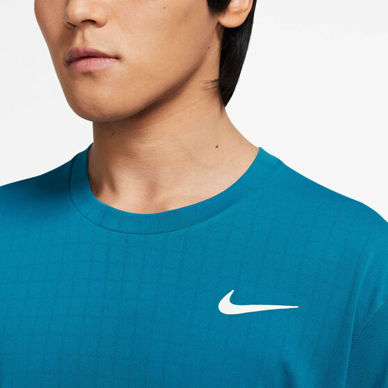 NikeCourt Breathe Mens Slam Tee, Green, rebel_hi-res