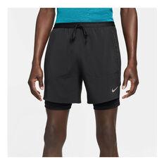 Nike Flex Stride Run Division Mens Running Shorts Black S, Black, rebel_hi-res