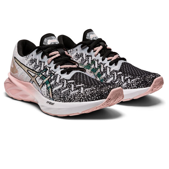 Asics Dynablast New Strong Womens Running Shoes, White/Pink, rebel_hi-res