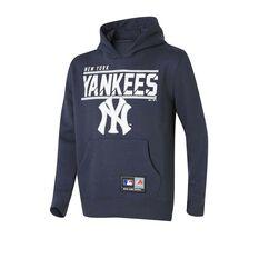 New York Yankees Youth Flex Team Hoodie Navy 8, Navy, rebel_hi-res