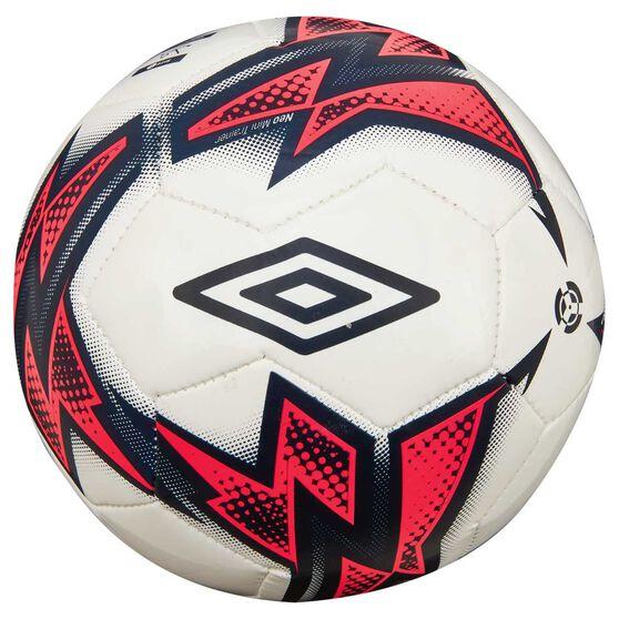 Umbro Neo Trainer Mini Soccer Ball White / Blue 1, , rebel_hi-res