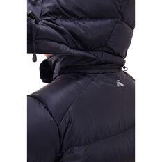 Macpac Womens Sundowner Hooded Jacket, Black, rebel_hi-res
