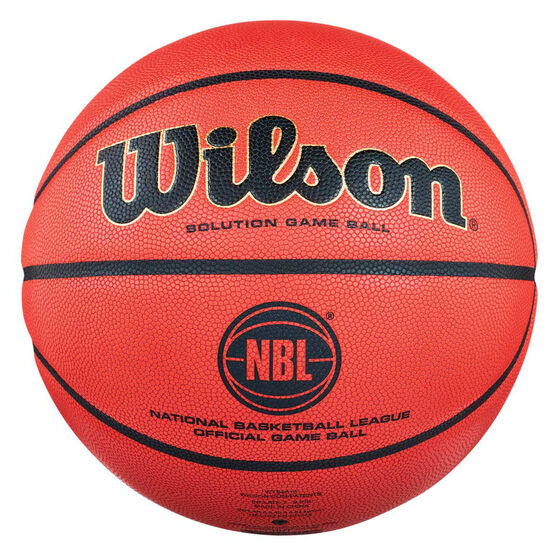 Wilson Solution Official NBL Game Ball 7, , rebel_hi-res