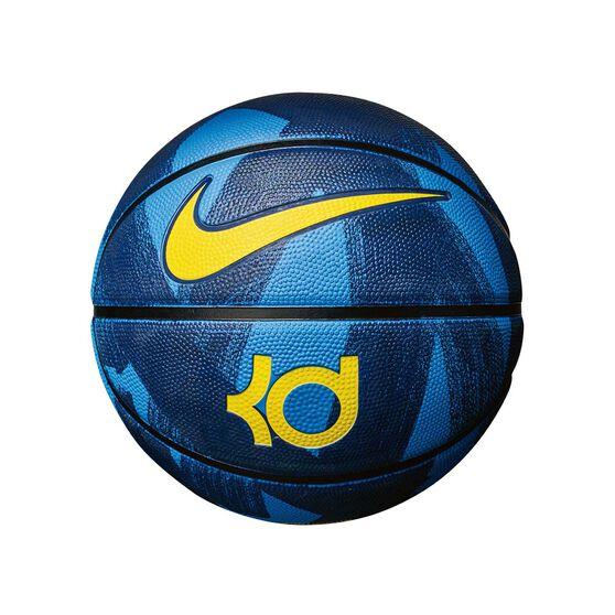 Nike KD Swoosh Mini Baskteball Blue / Yellow 3, , rebel_hi-res