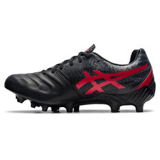 Asics Lethal Tigreor IT FF 2 Football Boots Black/Red US Mens 5 / Womens 6.5, Black/Red, rebel_hi-res