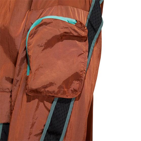 adidas Mens Anorak Windbreaker, Orange, rebel_hi-res
