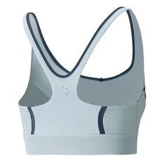 Puma Womens Exhale Mesh Curve Sports Bra Blue XS, Blue, rebel_hi-res