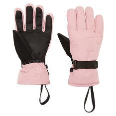 Tahwalhi Womens Scope Ski Gloves Pink S, Pink, rebel_hi-res