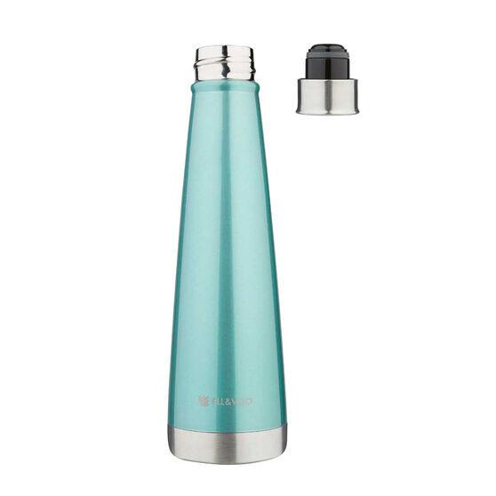 Ell & Voo Aria 430ml Insulated Drink Bottle Aqua, Aqua, rebel_hi-res
