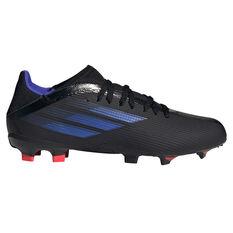 adidas X Speedflow .3 Kids Football Boots Black US 11, Black, rebel_hi-res