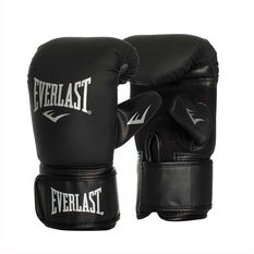 Everlast Tempo Bag Boxing Gloves Black S / M, Black, rebel_hi-res