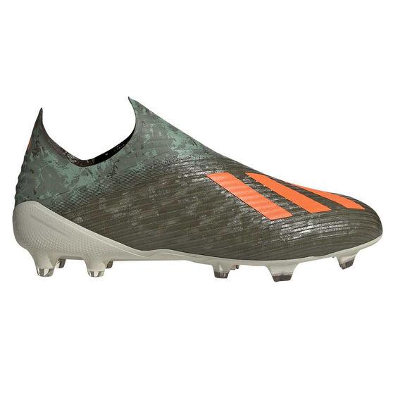 adidas X 19+ Football Boots Green / Orange, Green / Orange, rebel_hi-res