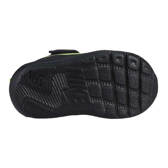 Nike Air Max Oketo Toddlers Shoes, Black / Green, rebel_hi-res