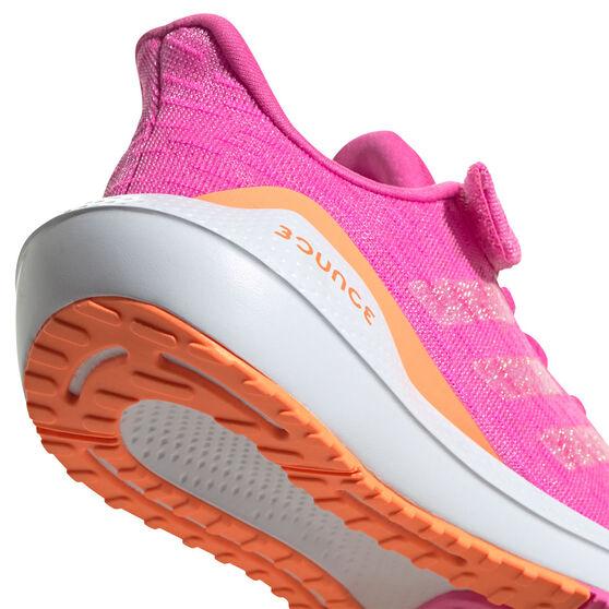 adidas EQ21 Run Kids Running Shoes, Pink/White, rebel_hi-res