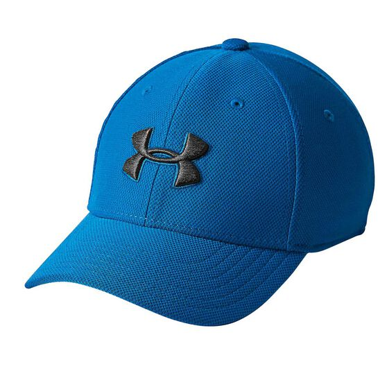 cbf586a24bf Under Armour Boys Blitzing 3.0 Cap Blue   Black XS   S Junior ...
