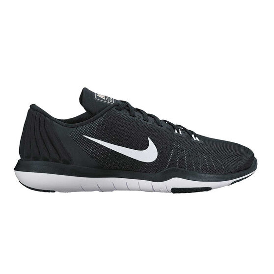 6dcc52b150d1 Nike Flex Supreme TR 5 Womens Training Shoes Black   White US 6 ...