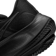 Nike Air Zoom Pegasus 38 Womens Running Shoes, Black, rebel_hi-res