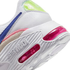 Nike Air Max Excee Womens Casual Shoes, White/Indigo, rebel_hi-res