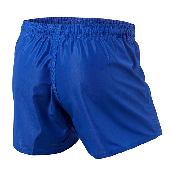 Parramatta Eels Mens Home Supporter Shorts, Blue, rebel_hi-res