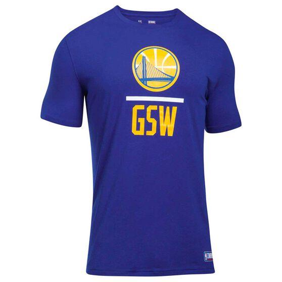 Golden State Warriors Mens Basketball Tee, , rebel_hi-res