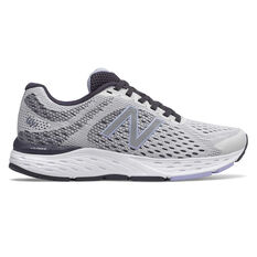 New Balance 680v6 D Womens Running Shoes Grey US 6, Grey, rebel_hi-res