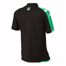 Western United 2019/20 Mens Polo Black / Green S / M, Black / Green, rebel_hi-res