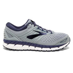 Brooks Beast 2E Mens Running Shoes Grey / Blue US 10.5, Grey / Blue, rebel_hi-res