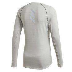 adidas Mens Runner Top Grey S, Grey, rebel_hi-res