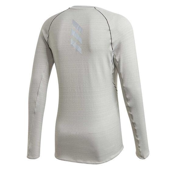 adidas Mens Runner Top, Grey, rebel_hi-res