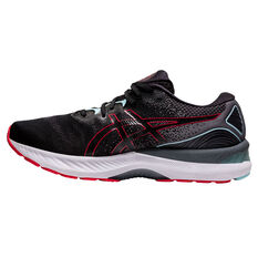 Asics GEL Nimbus 23 Mens Running Shoes Black/Red US 7, Black/Red, rebel_hi-res