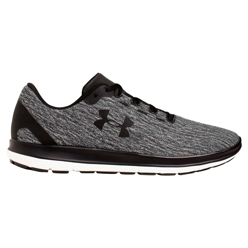 4832aa570a333 Under Armour Remix Mens Running Shoes Black   Grey US 12