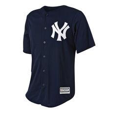 New York Yankees Mens Alternate Jersey Navy S, Navy, rebel_hi-res