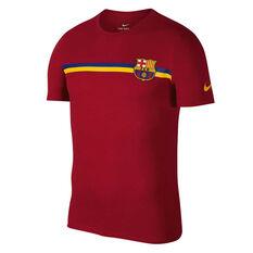 FC Barcelona 2018 / 19 Mens Crest Tee, , rebel_hi-res