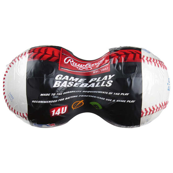 Rawlings 2 Pack Competition Baseball, , rebel_hi-res