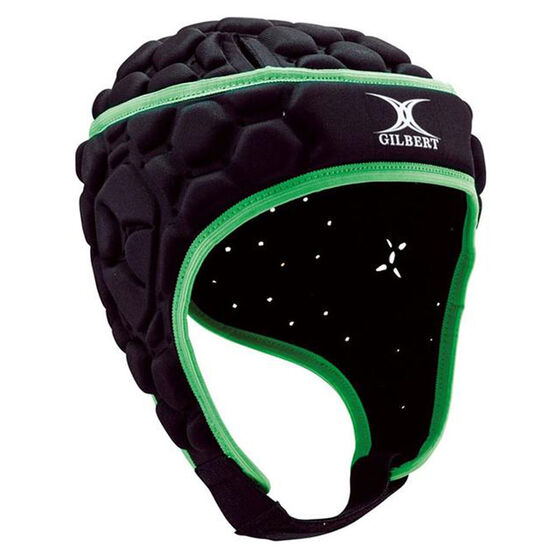Gilbert Falcon 200 Headgear, Black, rebel_hi-res