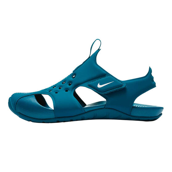 Nike Sunray Protect 2 Junior Kids Sandals Blue US 12, Blue, rebel_hi-res