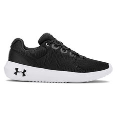 Under Armour Ripple 2.0 Womens Casual Shoes Black / White US 6, Black / White, rebel_hi-res