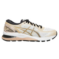 Asics GEL-Nimbus 21 Platinum Womens Running Shoes Rose Gold US 6, Rose Gold, rebel_hi-res