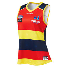 Adelaide Crows AFLW 2019 Womens Home Guernsey Blue   Orange XS 950345c3c