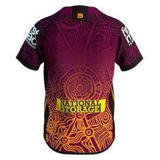 Brisbane Broncos 2020 Kids Indigenous Jersey Multi 6, Multi, rebel_hi-res