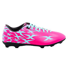 XBlades Intercept Flash Kids Football Boots Pink/Blue US 11, Pink/Blue, rebel_hi-res