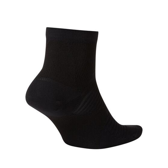 Nike Spark Lightweight Ankle Socks Black S, Black, rebel_hi-res