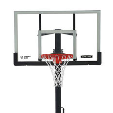 Lifetime 60in Tempered Glass Pro Slam In Ground Basketball System - Online Only, , rebel_hi-res