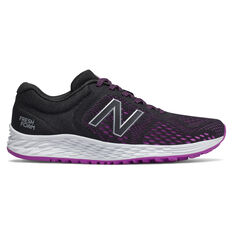 New Balance Fresh Foam Arishi v3 Womens Running Shoes Black/Pink US 6, Black/Pink, rebel_hi-res