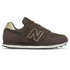 New Balance 373 v2 Womens Casual Shoes Black/Gold US 6, Black/Gold, rebel_hi-res